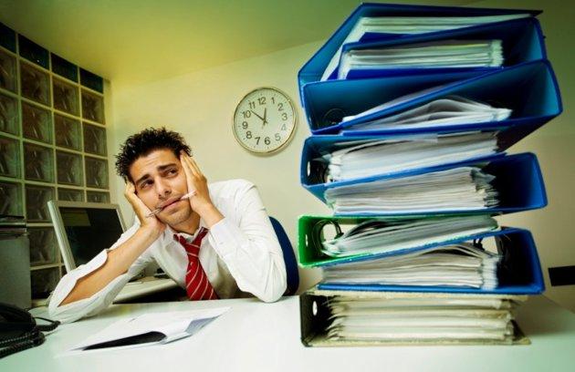 work-stressed