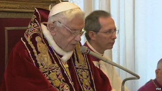 Pengunduran Diri Sri Paus Benediktus XVI